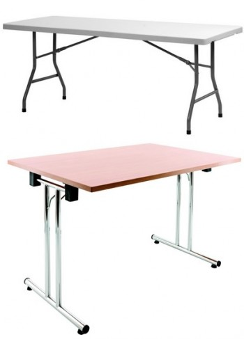 Mobilier collectivit lepage mobiliers - Tables collectivites pliantes ...
