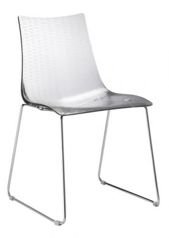 Chaise Dea pieds traineaux