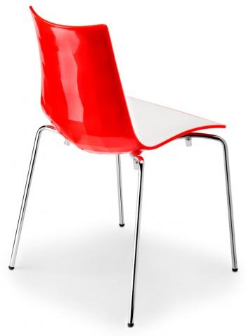 Chaise Zebra Bicolore