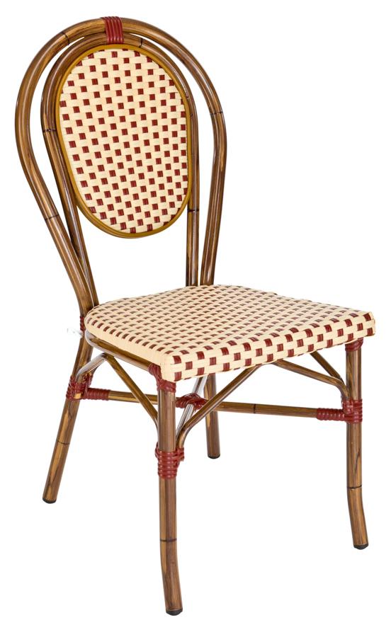 Chaise Empilable Paris Bordeauxchoco Lepage Mobiliers