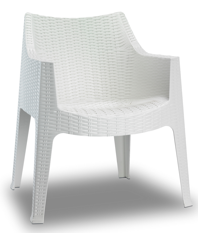 fauteuil maxima imitation rotin lepage mobiliers. Black Bedroom Furniture Sets. Home Design Ideas