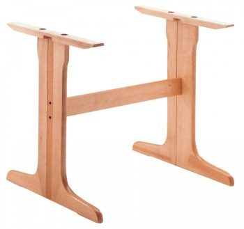 Pied de table en bois B501