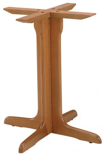 Pied de table en bois B503