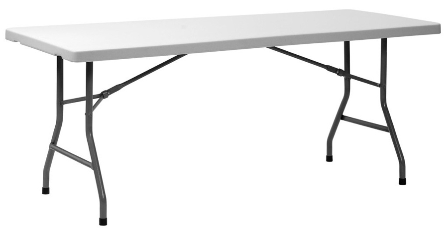 Table pliante xl 180 lepage mobiliers - Tables pliantes castorama ...