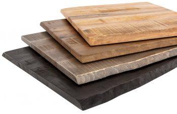 plateaux de tables pour restaurant. Black Bedroom Furniture Sets. Home Design Ideas