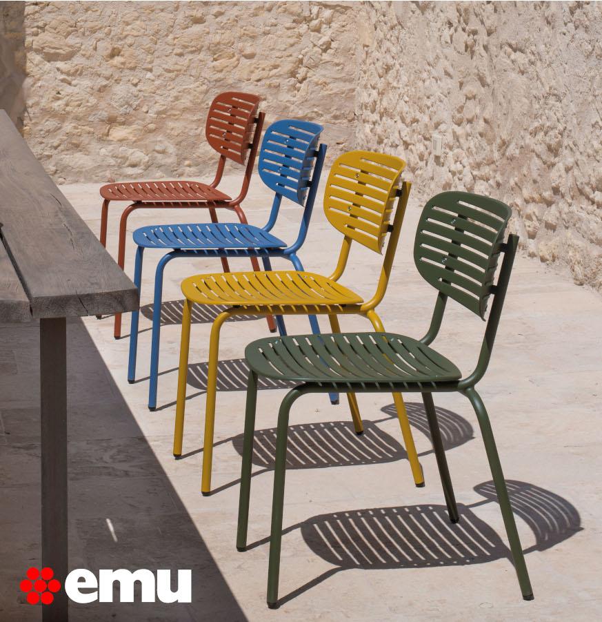 mobilier de terrasse emu